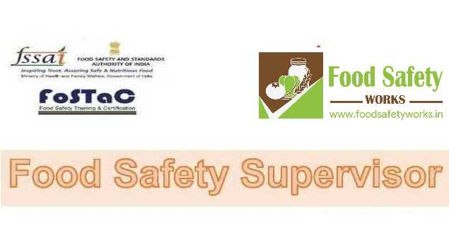 FosTac: Payment for Food Safety Supervisor Training - HINDI